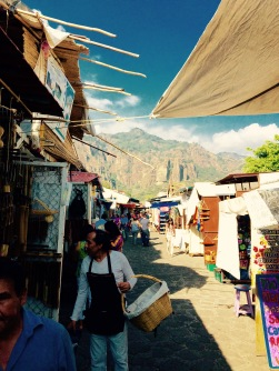 Marketplace in Tepoztlan, Mexico , Dec '15
